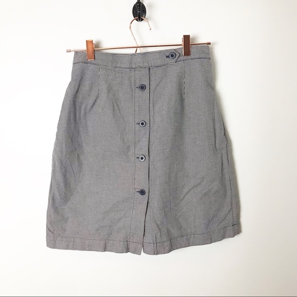 Fits M-L Vintage 90s Denim Kikomo Wear Plaid shirt Size Small